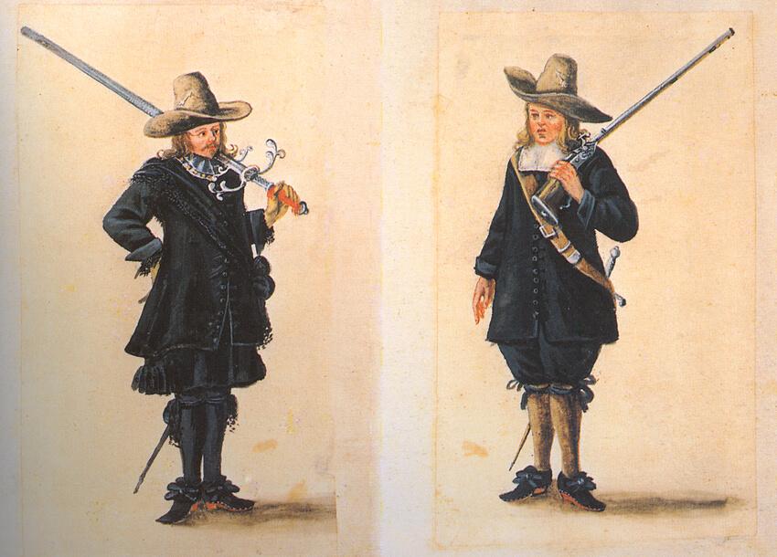 Bremer Schützen im 17. Jahrhundert